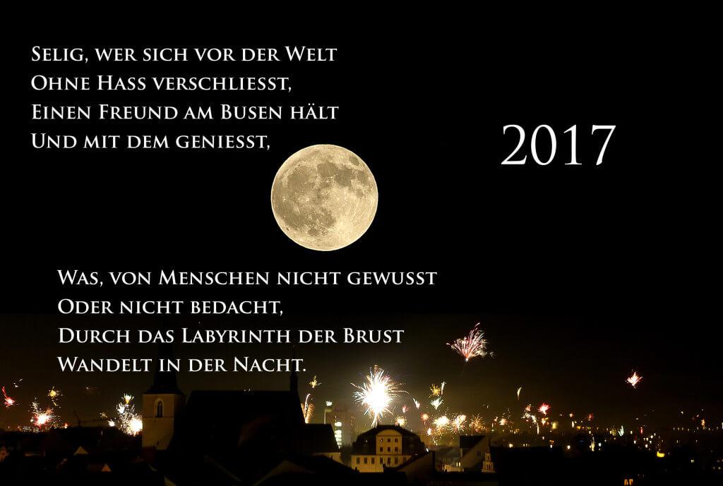 J.W.v.Goethe, An den Mond